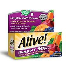 Alive! Nature's Way Once Daily Women's 50+ High Potency Multivitamin 50 ea (4pk)