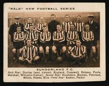Pals Magazine - ' Neuf Football Séries' (1922) - Carte #24 - Sunderland F.C