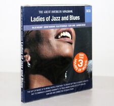 LADIES OF JAZZ AND BLUES [THE GREAT AMERICAN SONGBOOK] [3 CD] FUORI CATALOGO
