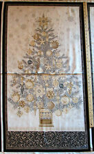 "Winter's Grandeur Christmas Tree Robert Kaufman Fabric 23"" Panel  15186-277"