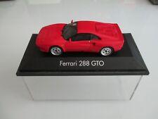 Ferrari 288 GTO Rot 1:43 Herpa in Plexbox, no BBR,MR