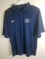 Nike Mens Blue Dri Fit Polo Shirt size L