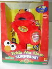 Fisher Price Tickle Me Elmo Surprise 5th Anniversary Edition New In Box