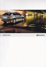 Subaru Impreza WRX Boxer Sport prospectus brochure USA 2008 32