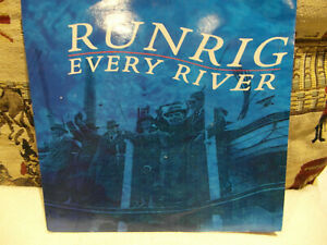 """Runrig's unplayed supreme release from 1989 called """" Every River """" on Chtysalis"""