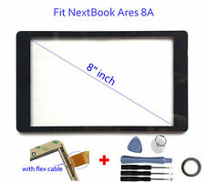 "US Digitizer Touch Screen Panel for Nextbook Ares 8A  NX16A8116B 8"" inch Tablet"