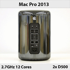 Mac Pro Late 2013 | 2.7GHz 12 Cores | Dual AMD D500 | 64GB RAM | 2TB Flash