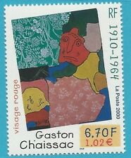 Francia 2000 ** Post freschi MiNr. 3490-dipinto Gaston Chaissac!