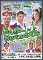 Southsea, King's Theatre,  Pantomime, 2007, Tony Adams, Lisa Riley, Craig, y93
