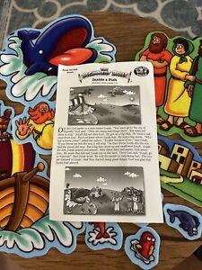 The Beginners Bible Felt Stories of Jonah - Inside A Fish