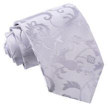 DQT Mens Tie Solid Plain Plaid Patterned Floral Paisley Polka Tartan Checkered