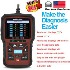 OBD Code Reader Automative OBD2 Scanner Car Check Engine Fault Diagnostic Tool