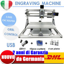 USB 3 AXIS DIY 2417 PCB CNC Router Kit per incisione Laser Engraver Cutter 60W
