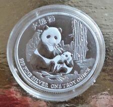 Niue 2 Dollars 2017 ° 1 oz. 999 Silber ° Panda mit Jungem °