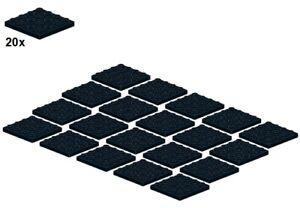 LEGO® - Plates - Black - 3031-04 - 4x4 (20Stk) - Platte - Schwarz