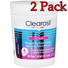 Clearasil Ultra Rapid Action Pads, 90ct, 2 Pack 839977009200A596