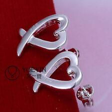 FREE P&P New Womens Ladys Fashion Jewelry silver Earrings+Gift Box 18#