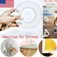 Reusable Magic Nano Tape Double Sided Traceless Adhesive Clear Tape Removable Sd