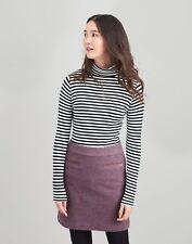 Joules Sheridan Tweed Skirt 18 in Lilac Tweed Size 18