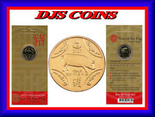 "2007 $1 Uncirculated Coin: Lunar Series - ""Year of the Pig."""