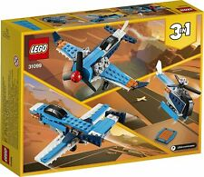 Lego Creator 3in1 Propeller Plane 31099 Flying Toy - Brand New & Sealed