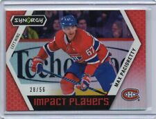 MAX PACIORETTY Canadiens 2017/18 UD Synergy Inpact Players Red Insert /56 SP