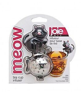 Joie Meow Cat Kitten Tea Cup Infuser Stainless Steel