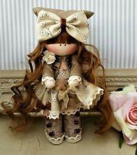 Rag doll handmade in the UK Tilda doll Ooak doll Cloth doll JOY 6 inch tall