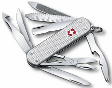 Swiss Army Knife, MiniChamp Silver Alox, Victorinox 0.6381.26US2, New In Box