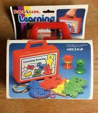 Vintage Fun-N-Learn Learning Sewing New in Original Packaging