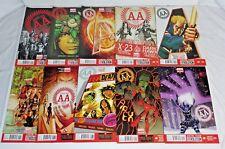 AVENGERS ARENA 18 ISSUE COMPLETE SET 1-18 (2013) MARVEL COMICS