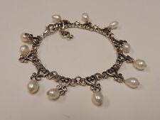 "Brighton Vivaldi Pearl Bracelet 7.75 - 8.5"" B361"