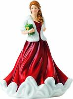 Royal Doulton Christmas Petite Figure of the Year 2018 Glad Tidings NEW in Box