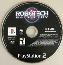 Robotech Battlecry Playstation 2 Ps2 Video Game Disc Only