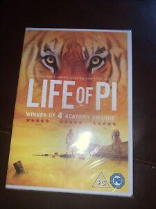 Life of Pi (DVD, 2012) Brand New Sealed