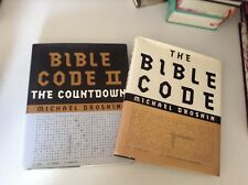 The Bible Code, Volume 1 AND 2, LOT,  Micheal Drosnin