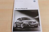 112665) VW Passat CC - technische Daten & Ausstattungen - Prospekt 03/2008