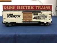 K-line Super Store Train Station KSS O Scale Classic Boxcar K-91000