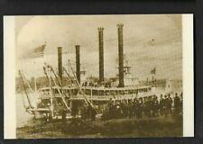"""Postcard Master Photographers No.4 Steamers Denver & Colorado"""" *6363"""