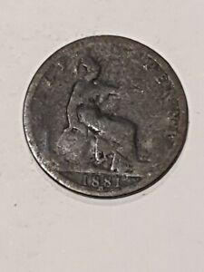 1881h british english uk Half Penny