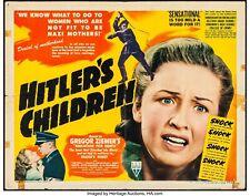 RARE 16mm Feature: HITLER'S CHILDREN (Tim Holt / Bonita Granville) 1943 RKO