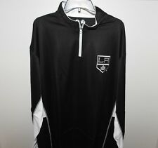 NHL Majestic Los Angeles Kings 1/4 Zip Hockey Jacket New Big & Tall Mens 2XL
