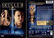 THE SKULLS II (i teschi) - DVD NUOVO E SIGILLATO, PRIMA STAMPA, NO EDICOLA