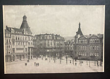 1949 Esch Luxembourg Real Picture Postcard Cover To Nancy France Brill Square