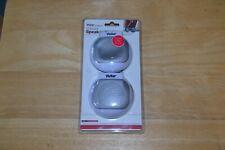 Vivitar Compact Speaker System #V03017 - White - Brand New