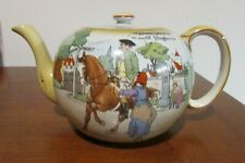 Burleigh Ware Tea Pot, Burgess & Leigh Burslem, Bailiffs Daughter of Islington