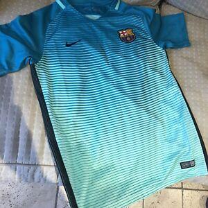 Nike Barcelona Barca Away Football Shirt Top 2016/2017 - Kids Size XL
