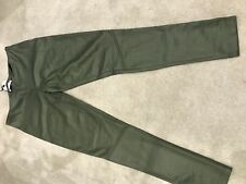 Brand New With Tag Thick Legging Costes Green Snake Size L