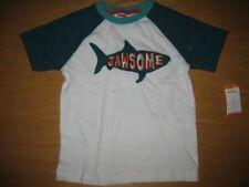 NWT Gymboree Scuba Shark size 5T Teal Blue JAwsome Top Shirt