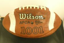 NCAA College Football Game Used Wilson Ball Illinois From Penn State